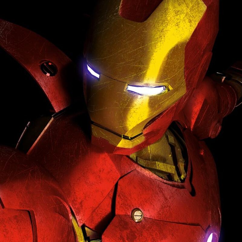 Ironman  - 3D Character Design