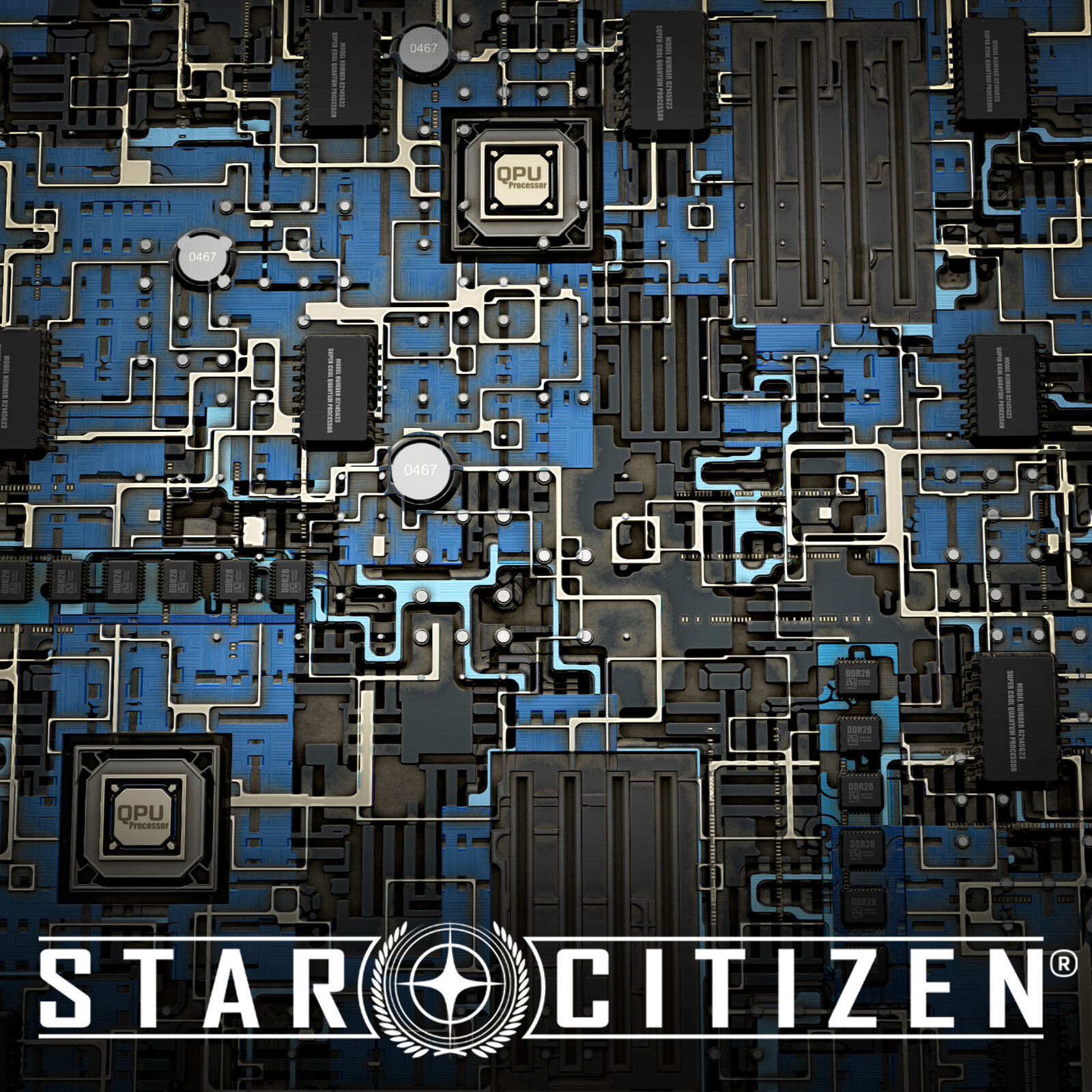 Star Citizen - Circuit board Substance