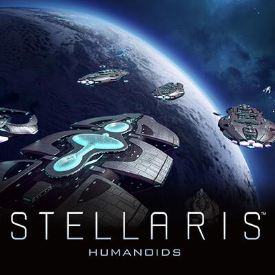 STELLARIS - Humanoid species pack ships