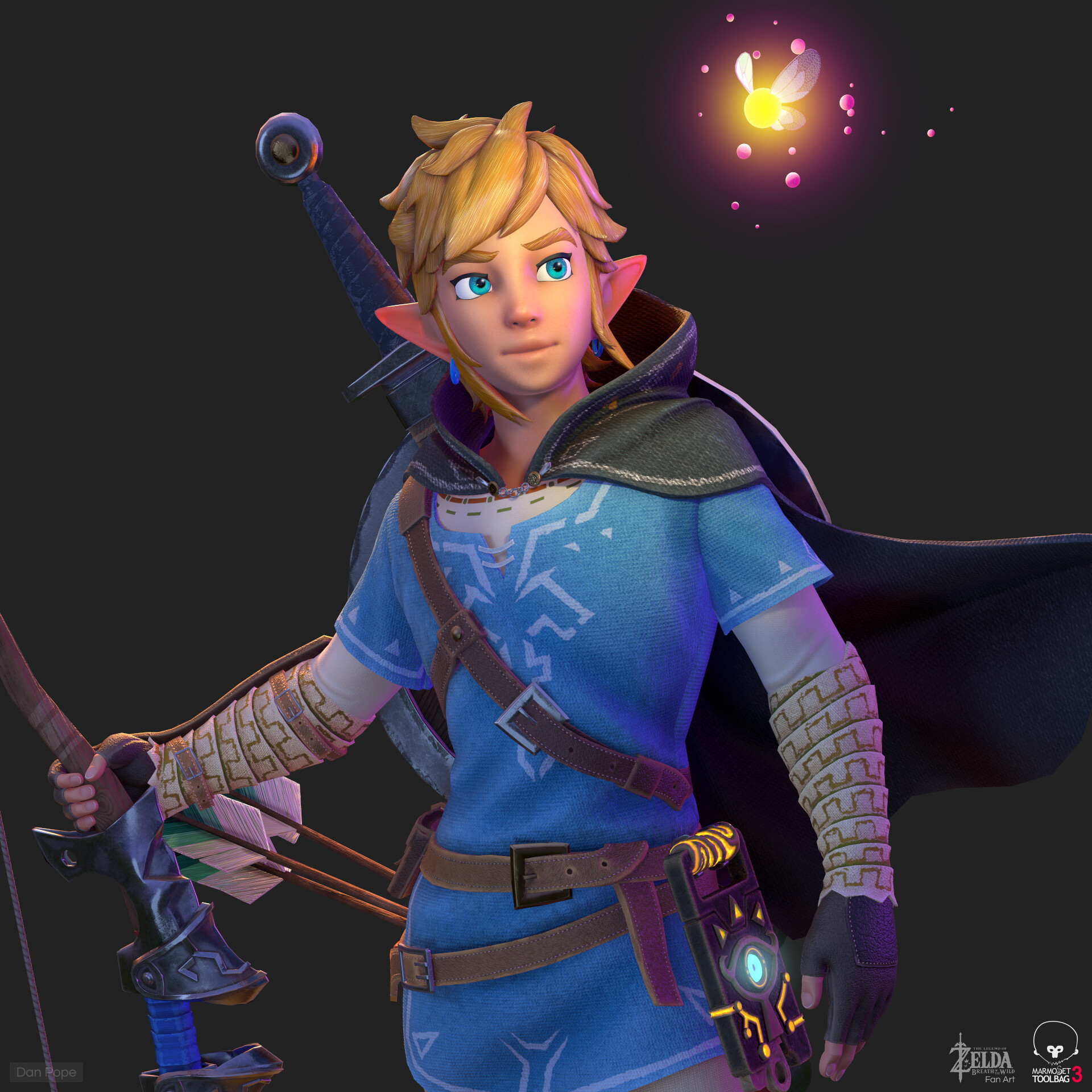 Artstation Link The Legend Of Zelda Breath Of The Wild