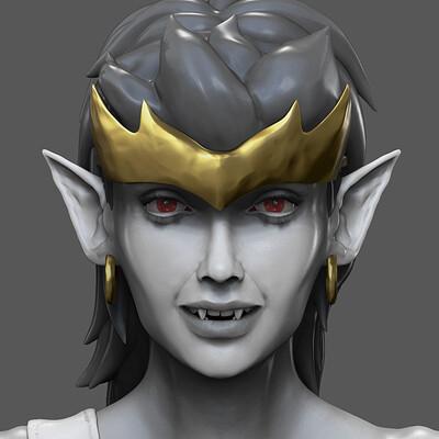 Gargoyles: Demona Fan Sculpt