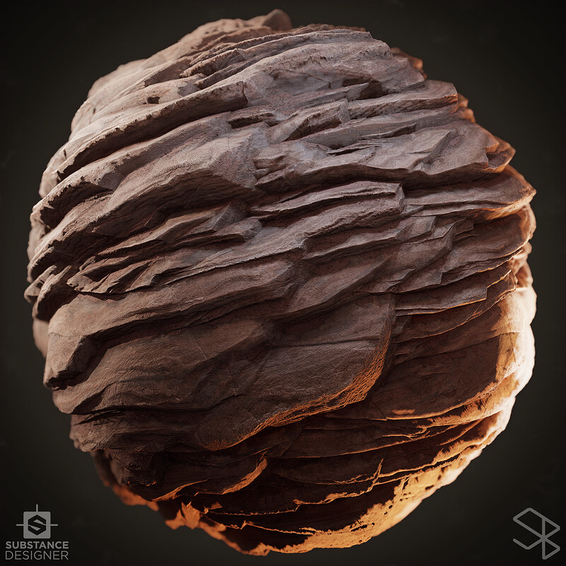 Rock Study 02 - Substance Designer