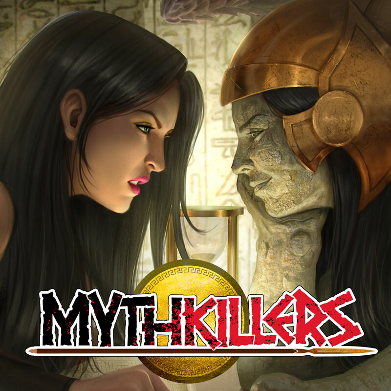 Mythkillers cover issue 3 by Rafater