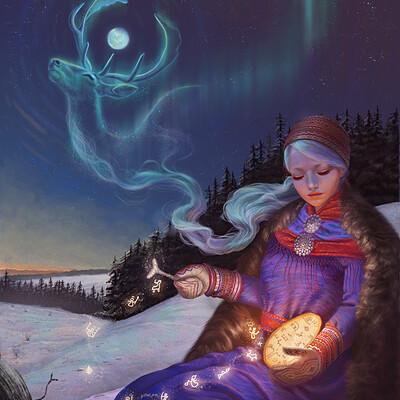 Daniela ivanova daniela ivanova saami shaman ver1 small