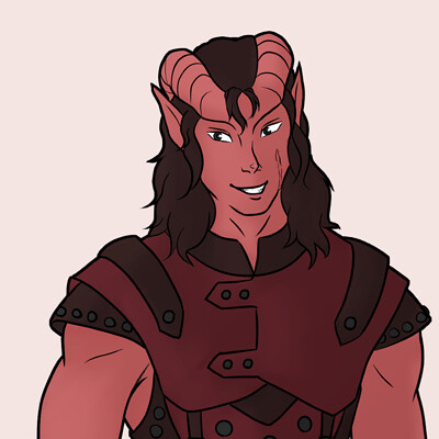 Jessi olney wills tiefling full body