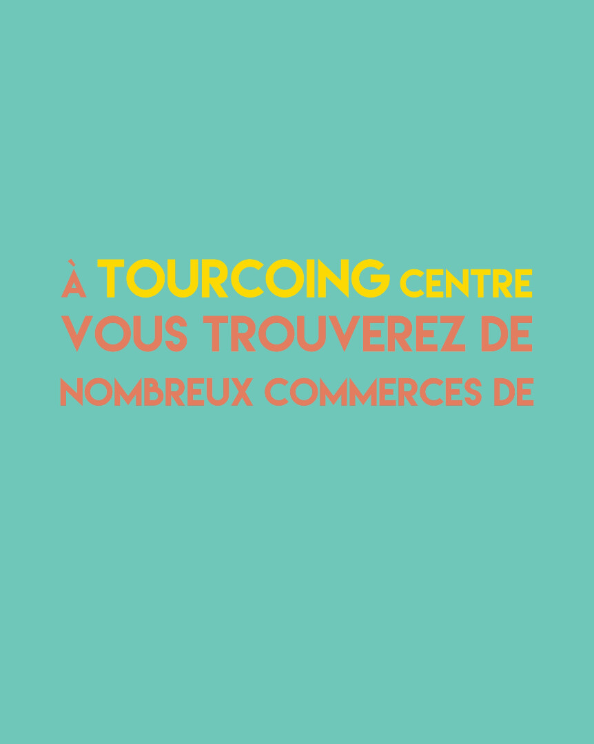 ANIMATION TEXTE / UC TOURCOING CENTRE