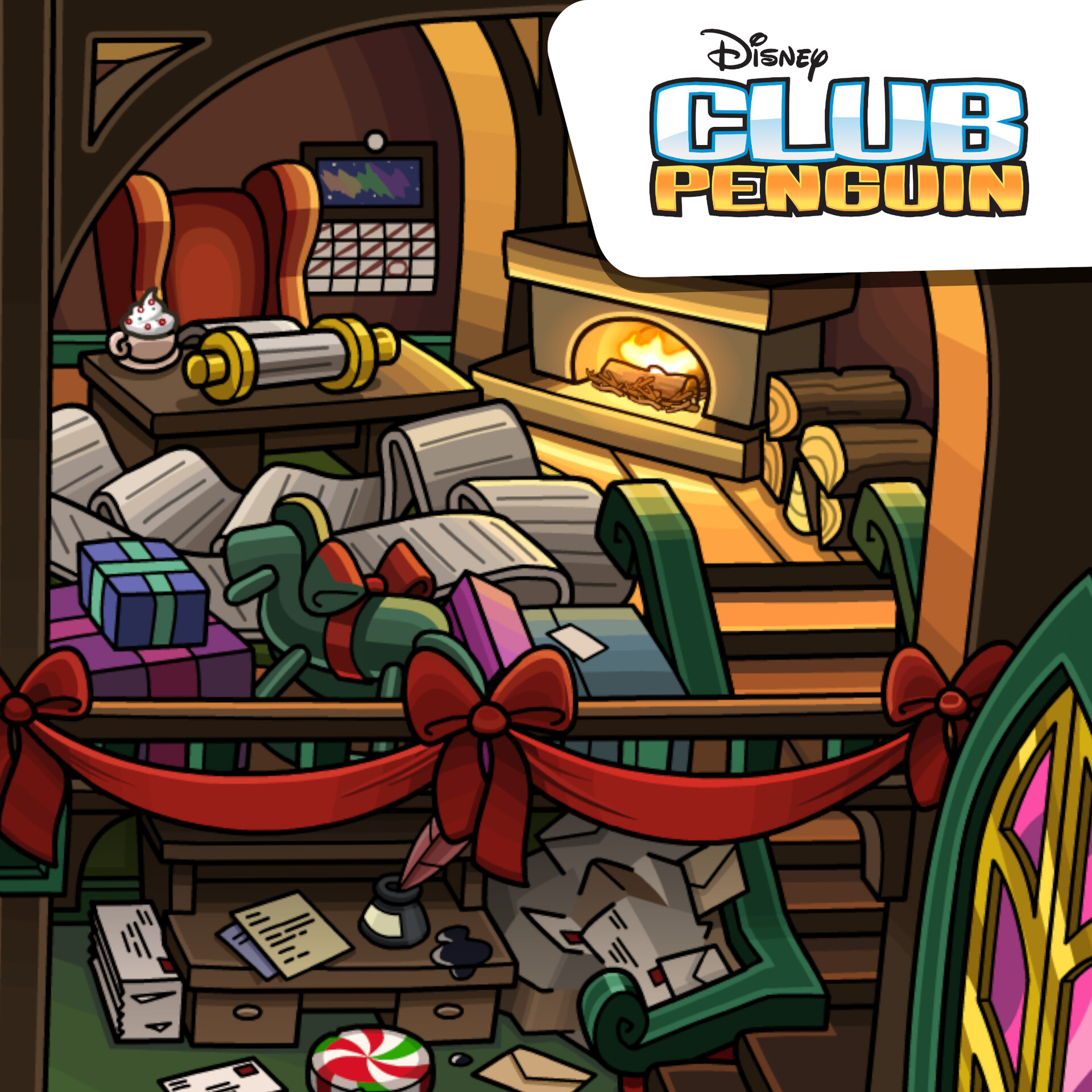 Club Penguin - Holiday Party