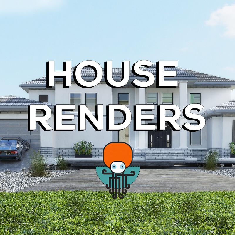House design - Architecture in 3dsmax