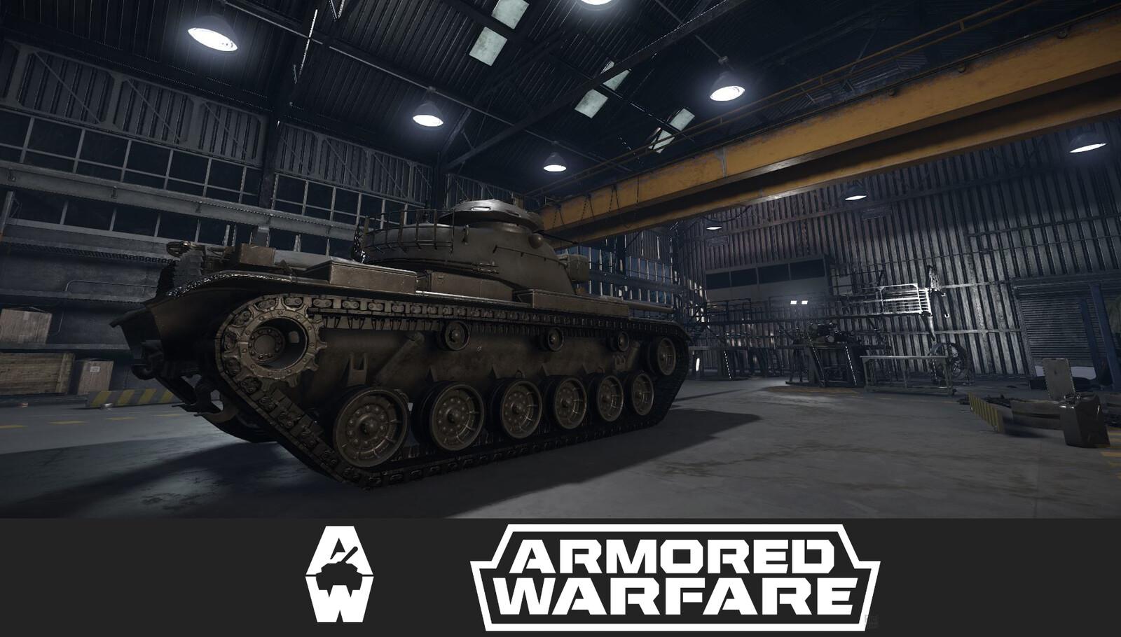 Armored Warfare Garage