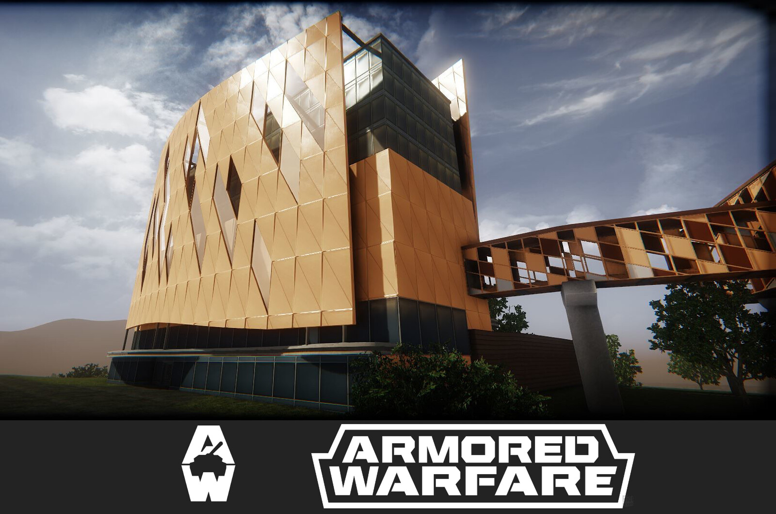 Buildings and Props for Armored Warfare