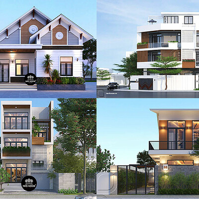 Neohouse architecture quy dinh ve mat do xay dung anh bia