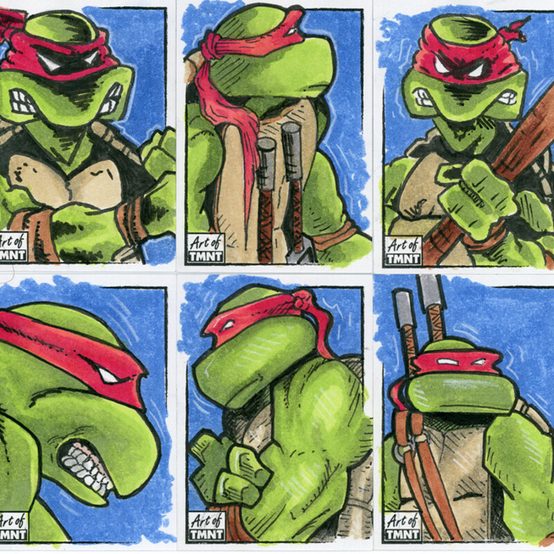 Topps Art of TMNT