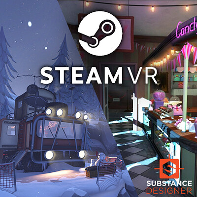 Steam VR Home