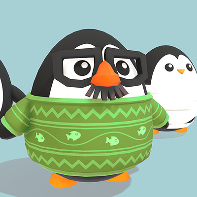 Penguin Dress Up!