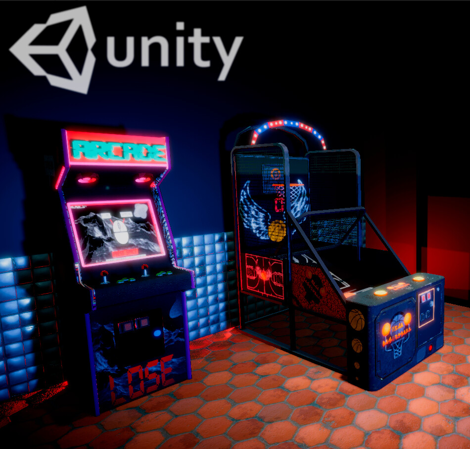 Arcade - 3D Models &  Unity technical demo