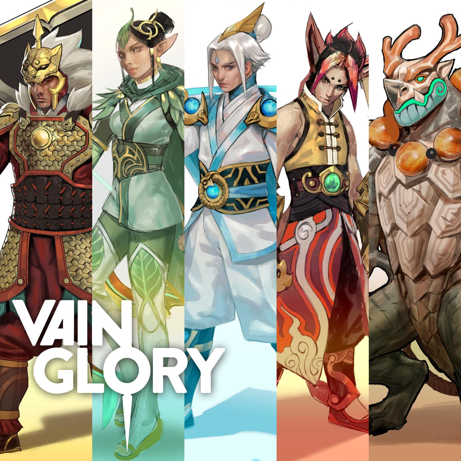 Wu Xing Skins - Vainglory