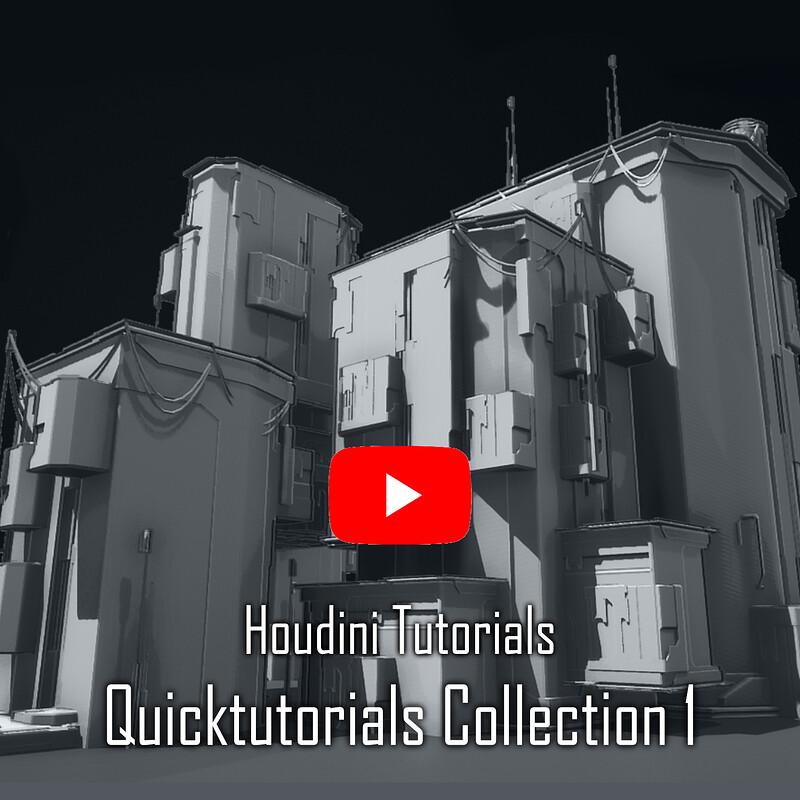 Houdini Tutorials collection 1