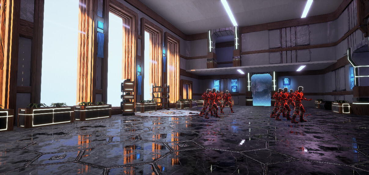Unreal Academy - CTF Map for Unreal Tournament