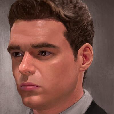 Rael dionisio rael dionisio richard madden portrait