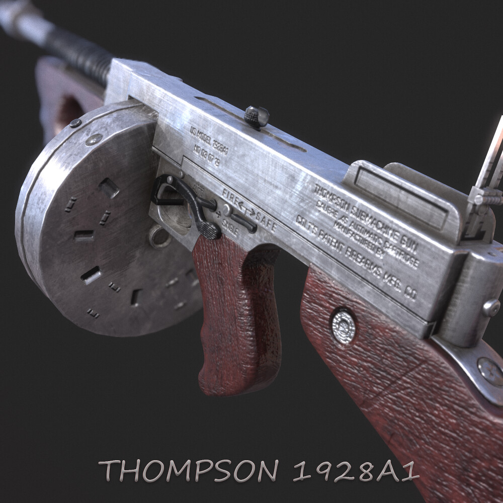 Thompson 1928A1 Tommy Gun