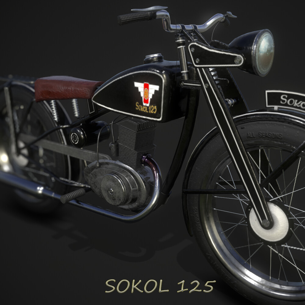Sokol 125 Polish Motorcycle