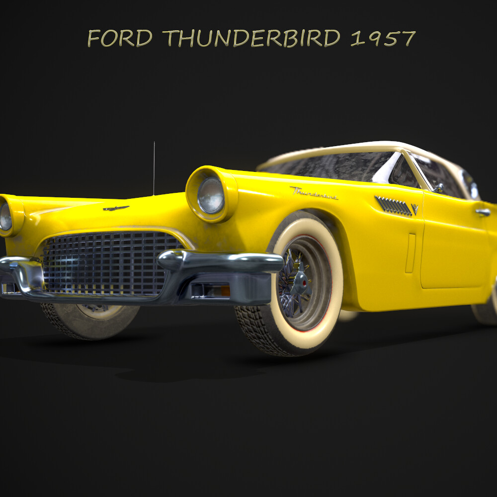 Ford Thunderbird 1957 Dusty