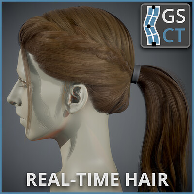Realtime Hair - GS CurveTools Plug-in Demo