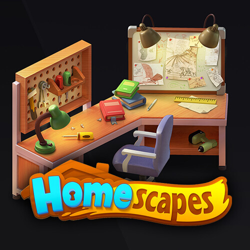 Objects for Homescapes