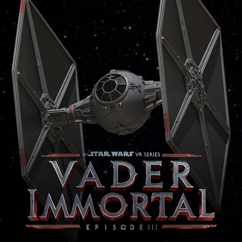 Vader Immortal: Episode III - Karius Tie Fighter