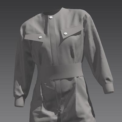 Marvelous Designer - Jumpsuit