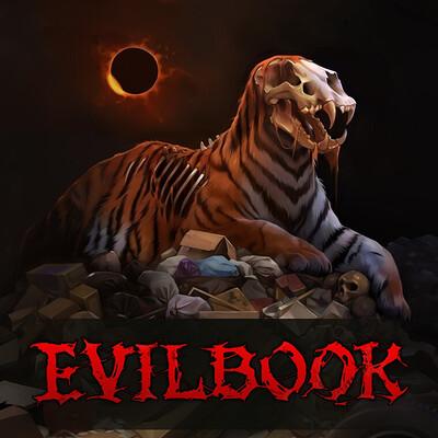 Alexandra gaudibuendia khitrova evilbook2 logo forartstation