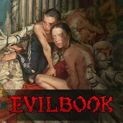 Yuliya litvinova evilbook2 logo forartstation11