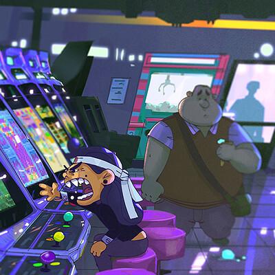 Simon demaret arcade flat reduce