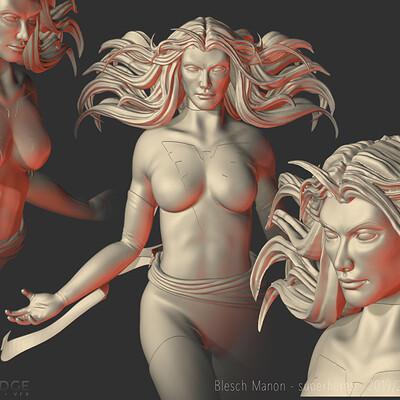 Dark Phoenix study 3D