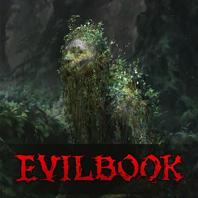 Tomas duchek evilbook2 logo forartstation