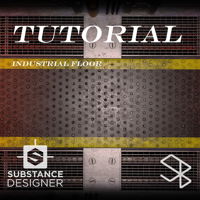 Substance Designer Tutorial - Industrial Floor