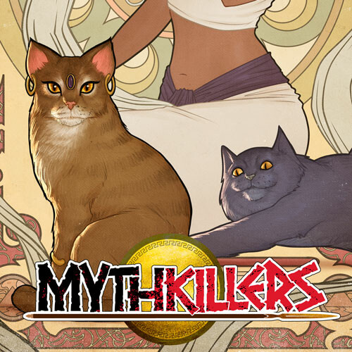 Mythcats cover by Rafater