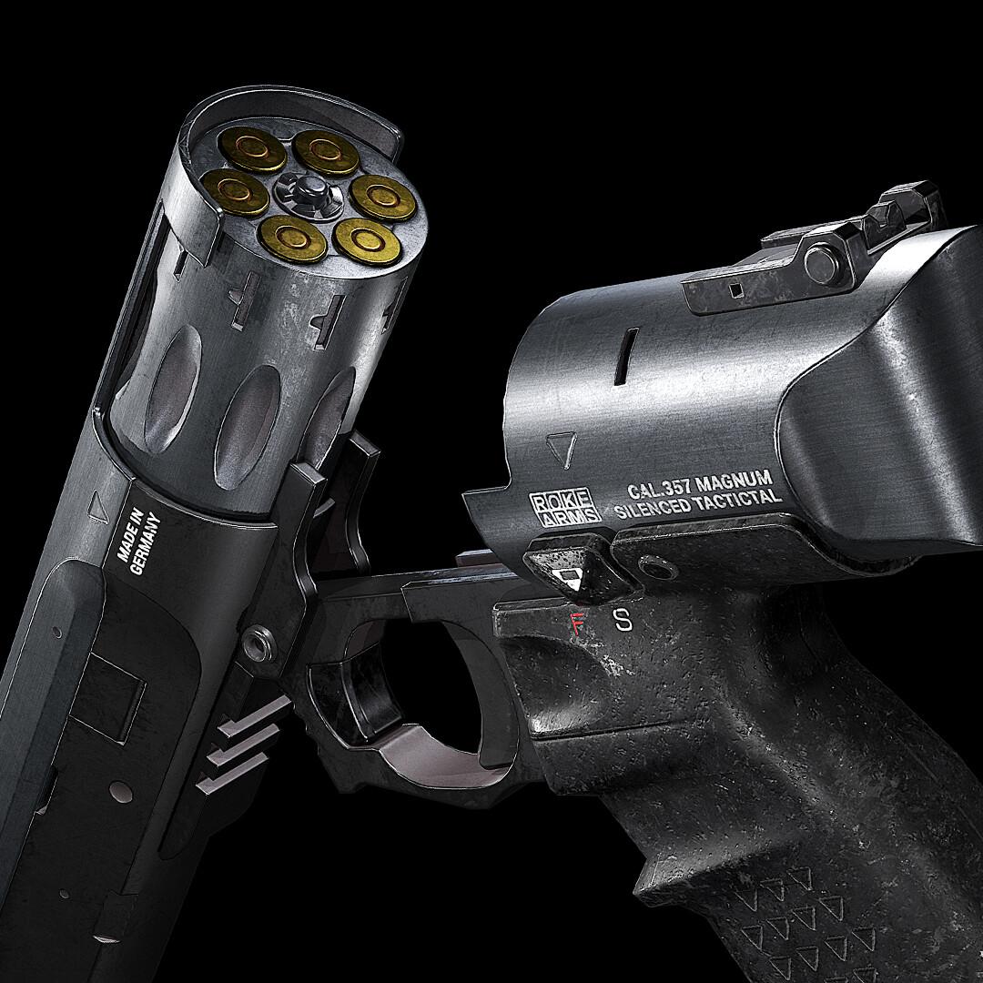 .357 Magnum Tactical Revolver
