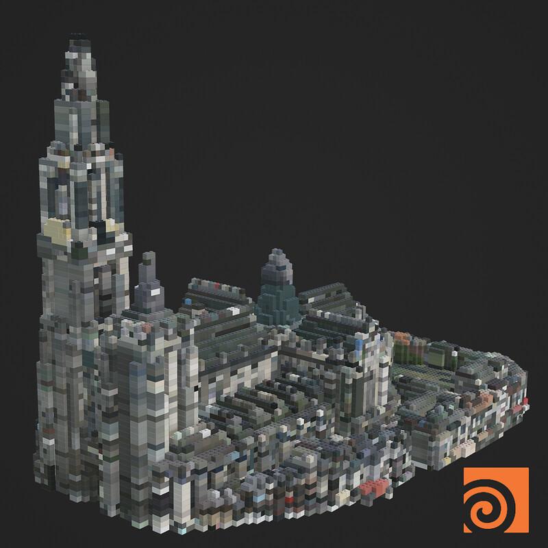 Houdini Lego Tool
