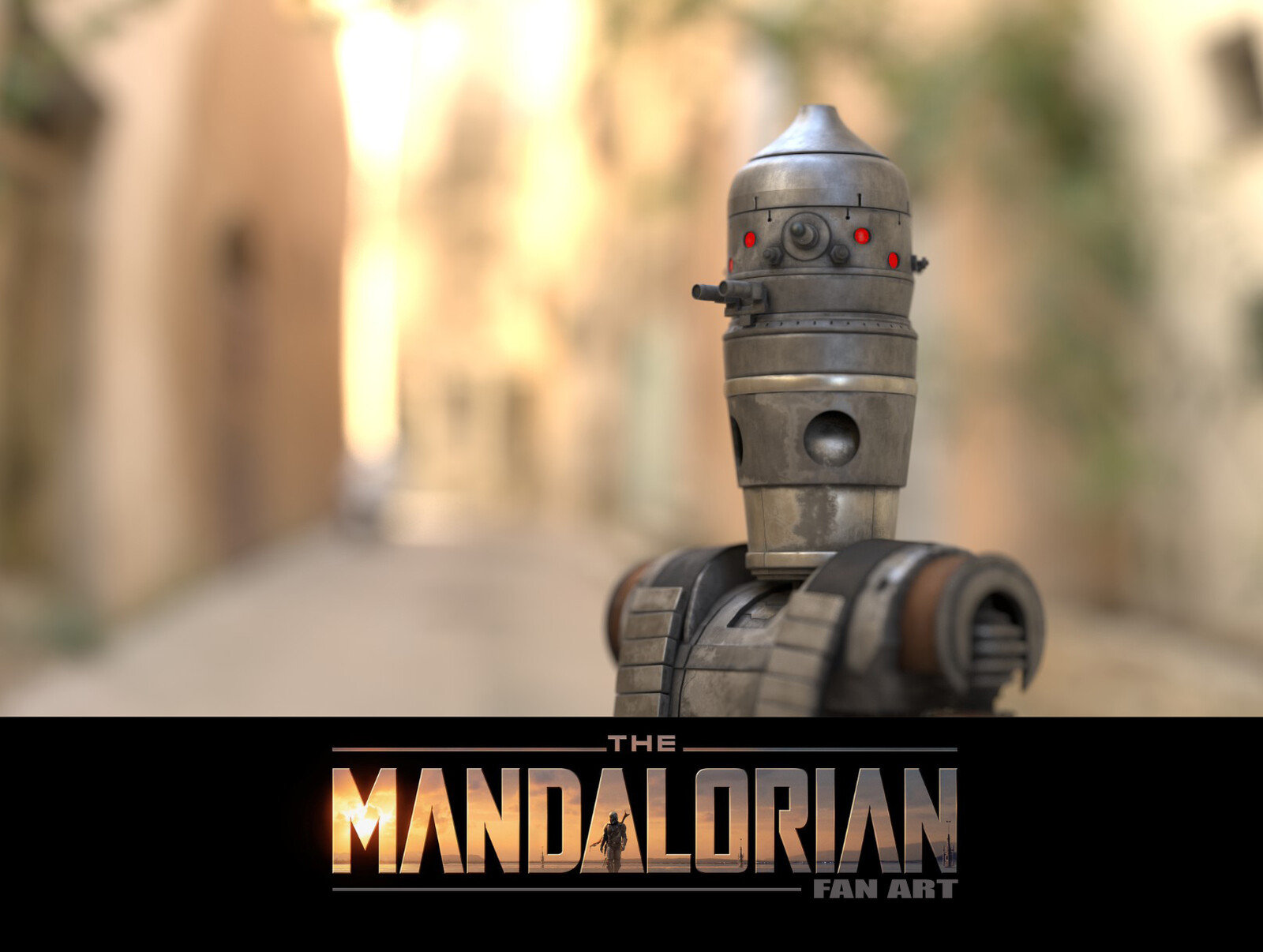 IG-11 The Mandalorian Fan Art