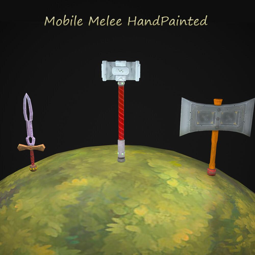 Mobile Melee HandPainted