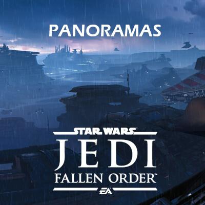 Star Wars Jedi: Fallen Order - Level Panoramas