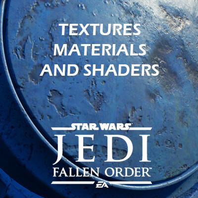 Star Wars Jedi: Fallen Order - Textures / Materials / Shaders
