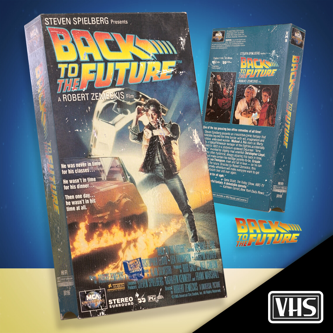 VHS - Back To The Future Trilogy