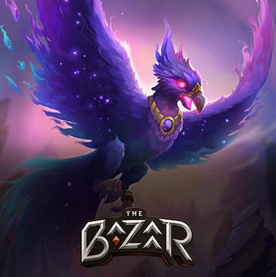 The Bazaar. Сard artworks