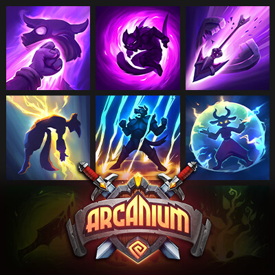 Arcanium. Icons design