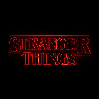 Nick sullo stranger things logo