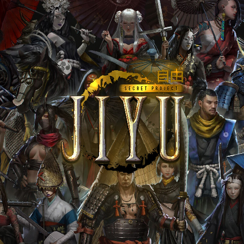 JIYU - Environment character design PACK 1