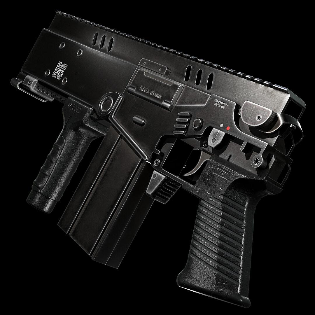Ultra Compact 5.56 AR