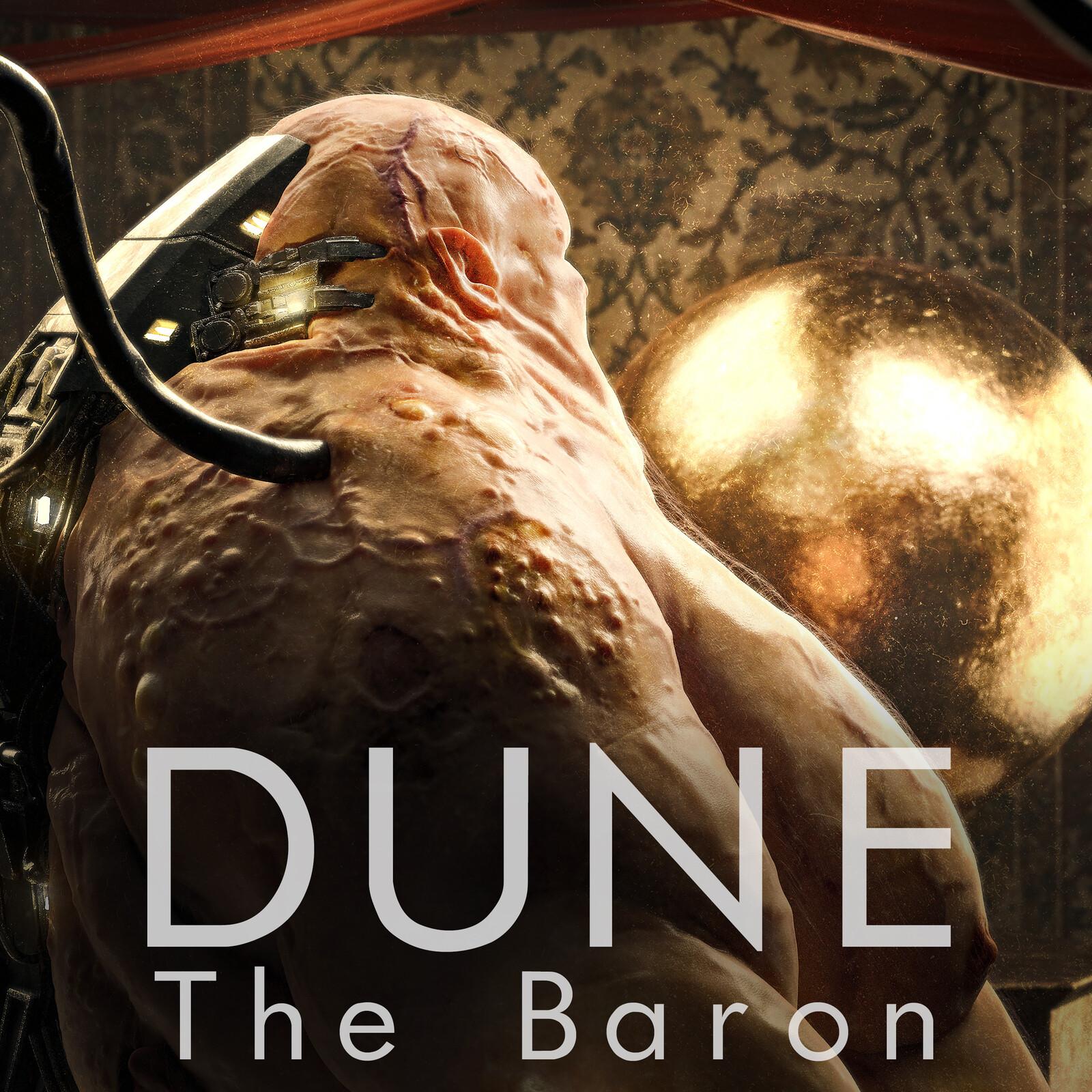 DUNE The Baron - Fan Art creation with Zbrush, Maya, Arnold, Mari and Xgen